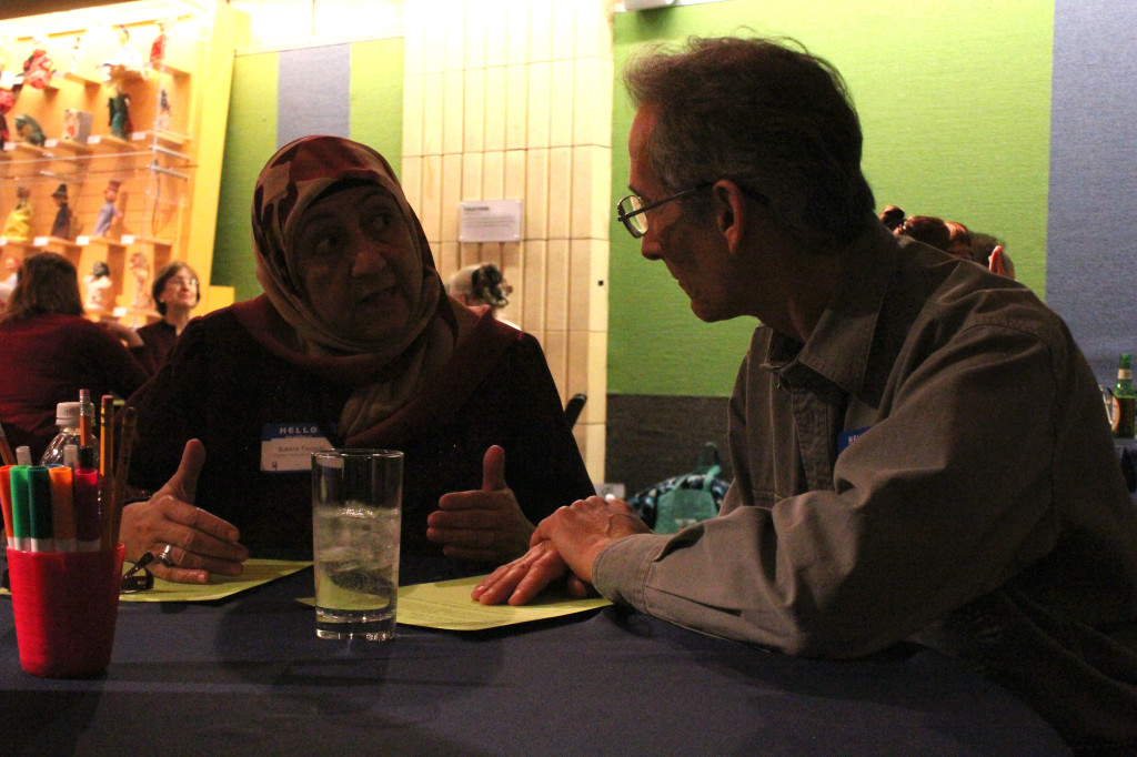 Dr. Sakena Yacoobi discusses Afghanistan conflict at the Children's Museum of Pittsburgh/Photo by Amanda King