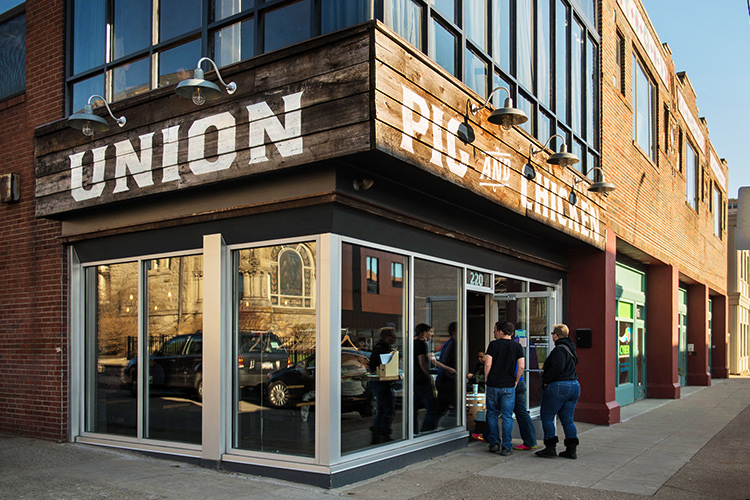 Kevin Sousa's Union Pig and Chicken/photo by Rob Larson