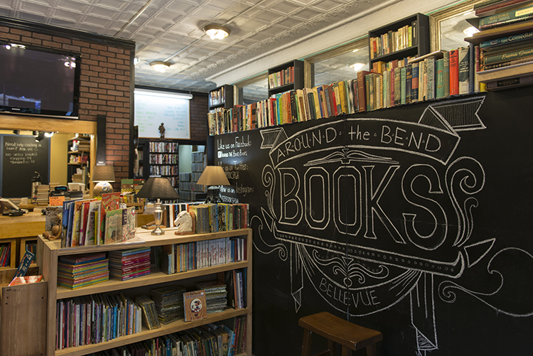 Things To Do in Bellevue Around the bend books