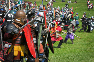 Battle time at the Pennsic War