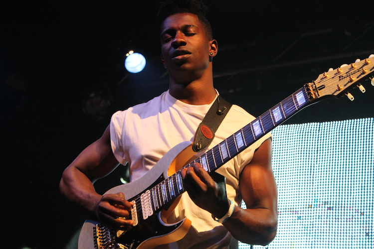 Tosin Abasi of Animals as Leaders at the Rex Theater