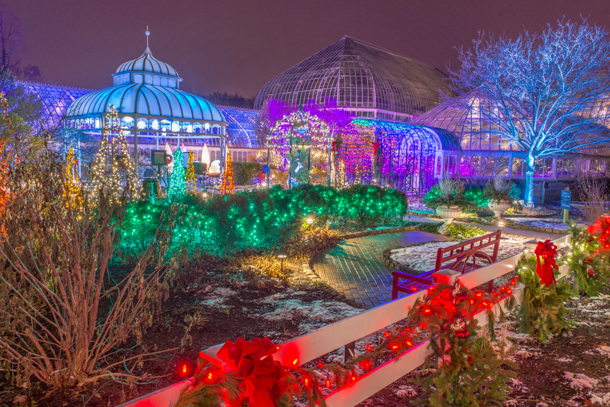 Atlanta Botanical Garden Christmas Lights