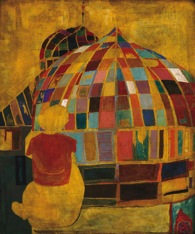 Andy_Warhol_Girl_in_Park_(Phipps)_1948_AWF