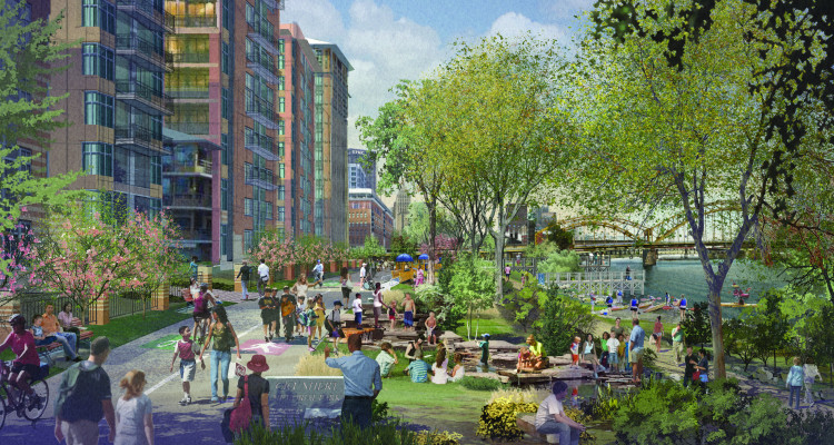 URA and Riverlife's Strip District projects selected for