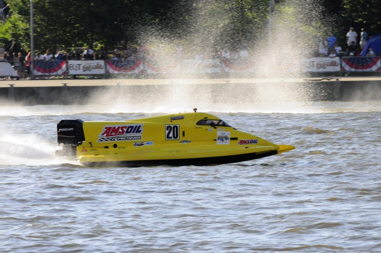 Boat racing on the rivers. Photo courtesy Three Rivers Regatta.