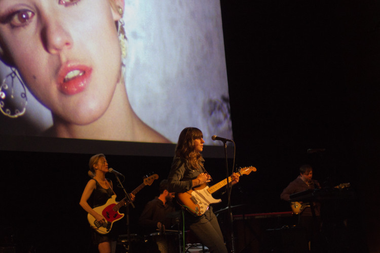 Eleanor Friedberger performs at  Exposed: Songs for Unseen Warhol Films. Photo Credit Brian Conway.