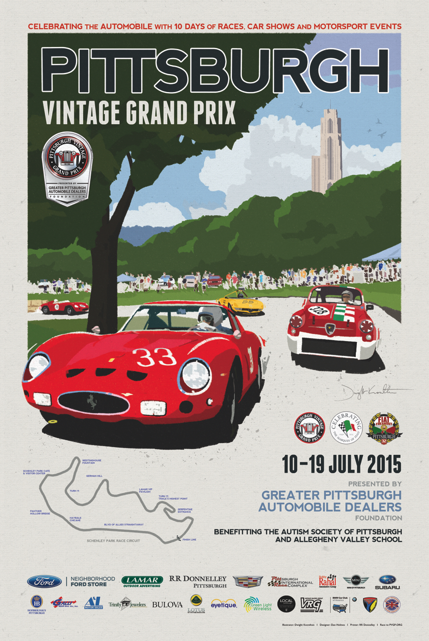 Race Weekend At The Pittsburgh Vintage Grand Prix - Pittsburgh car show