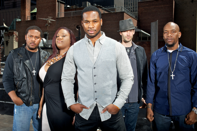 Robert Randolph and the Family Band.