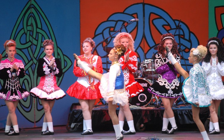Irish dance performances are scheduled throughout the weekend. Photo courtesy Pittsburgh Irish Festival.