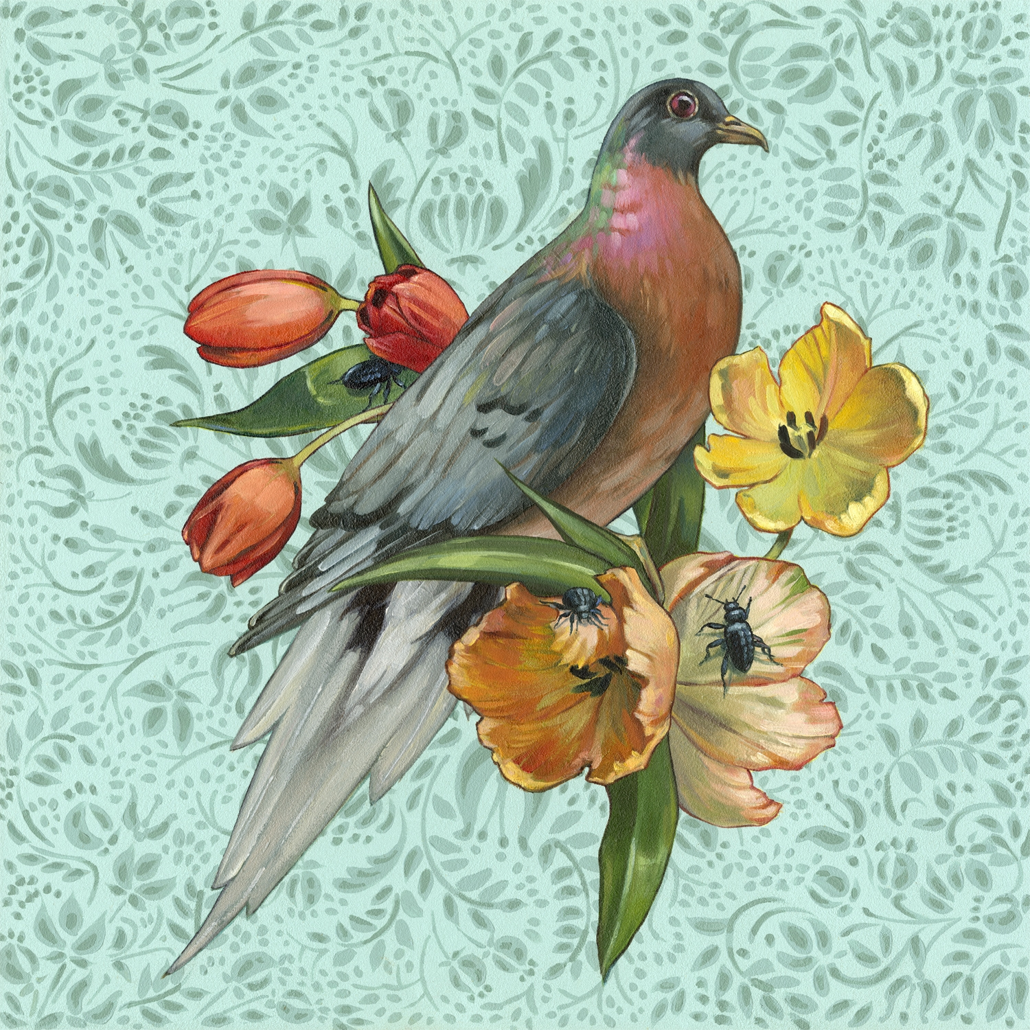 Ashley Cecil, Passenger Pigeon on Mint
