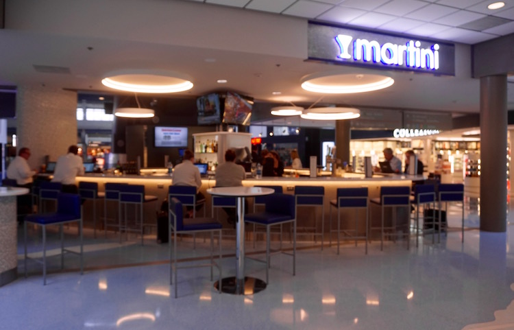 Yes, there's now a martini bar at the Pittsburgh Airport