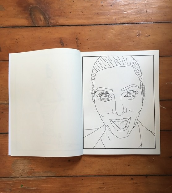 Kim Kardashian Coloring Book by Christina Lee.