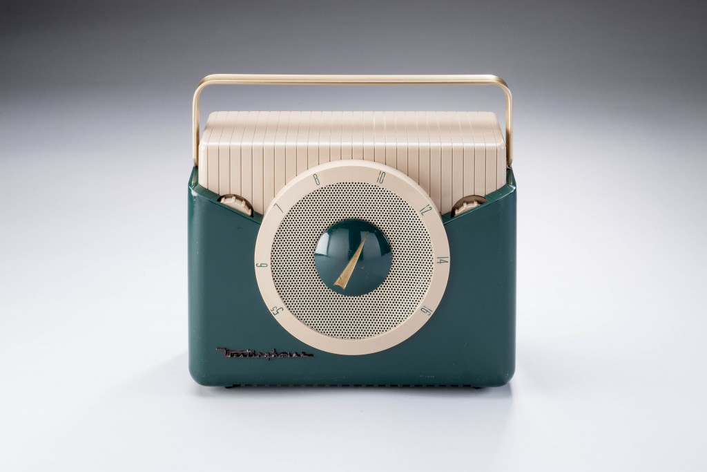 Peter Muller-Munk Associates; Westinghouse portable radio, 1951. Photo: Tom Little for Carnegie Museum of Art.