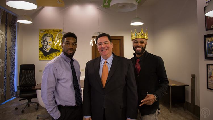 peduto and the drinking partners