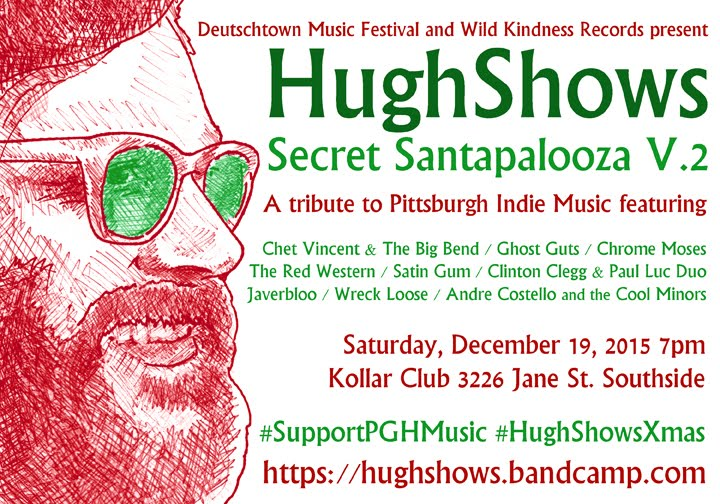 Hughshows Secret Santapalooza.