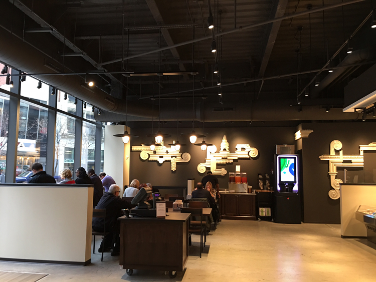 Corner Mercantile is open in the new PNC Tower, Downtown