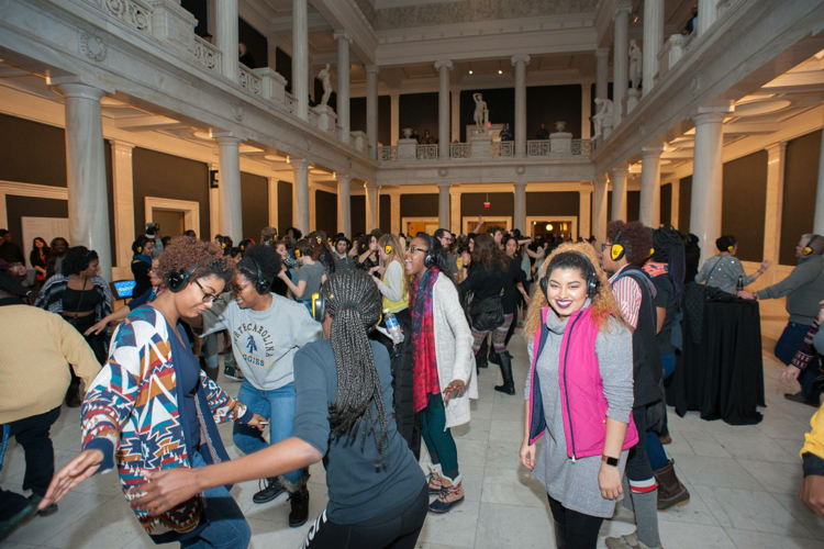 Third Thursday at CMOA. Photo by Bryan Conley.