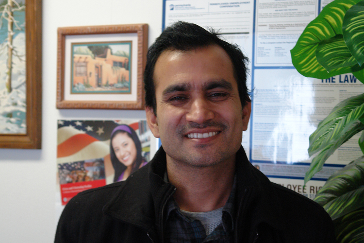 Upendra, from Bhutan. Photo by Welcoming Pittsburgh.