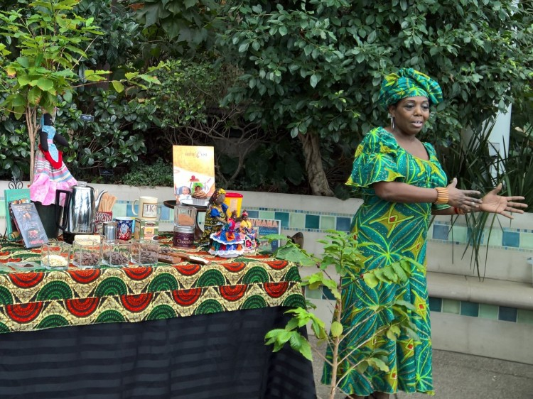 Learning about Africa through the Tropical Forest Congo Festival. Photo: Phipps Conservatory.