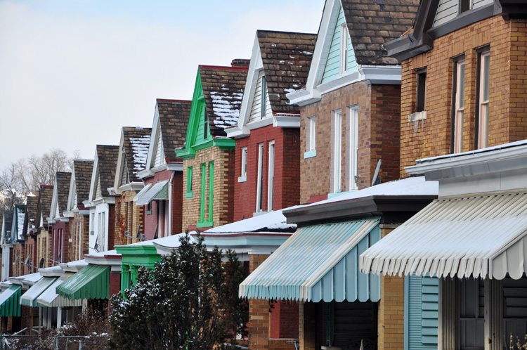 Arabella St. in Knoxville. Photo by Brian Cohen.