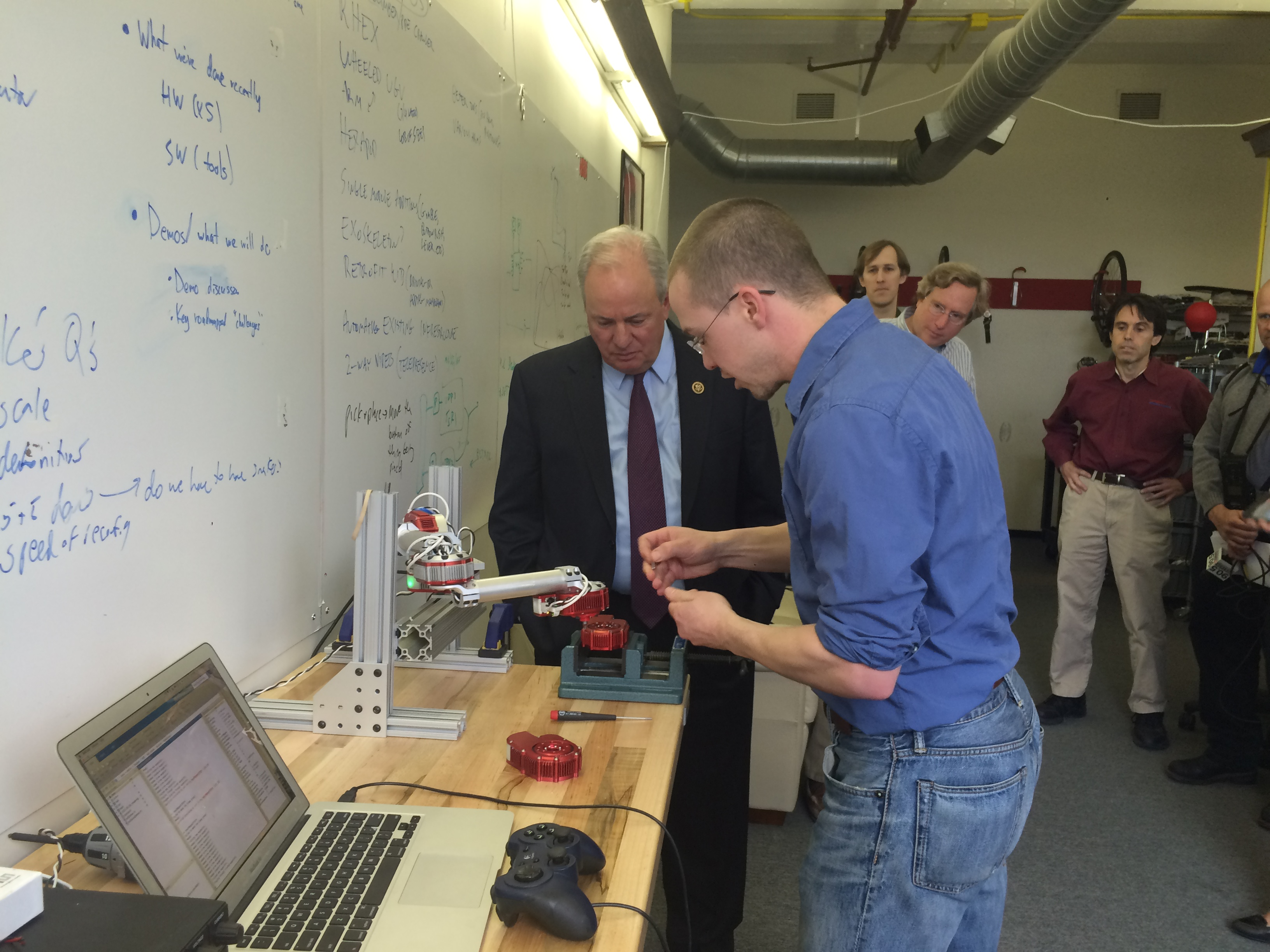 Robotics Demonstration at HEBI Robotics