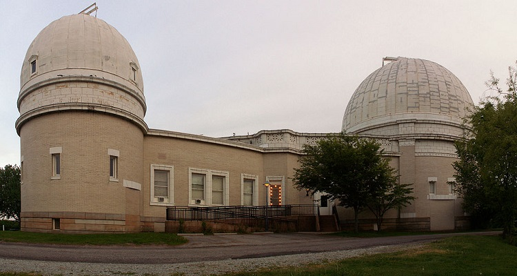 Allegheny Observatory at Riverview Park.