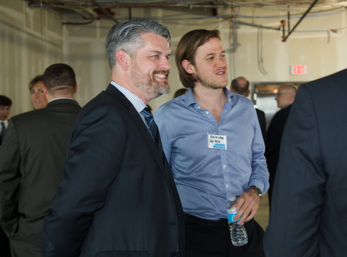 Jeremy at the PDP's Annual State of Downtown Pittsburgh event at the new Tower 260.