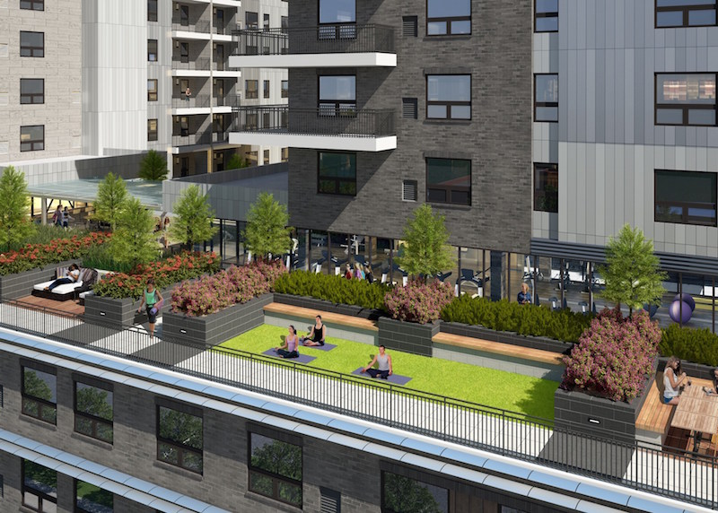 SkyVue Apartments opening in Oakland with rooftop deck and ...