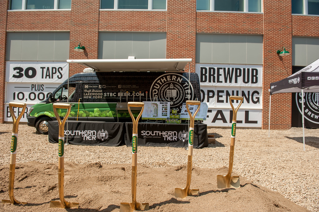 Southern Tier Brewing Company ground breaking ceremony.