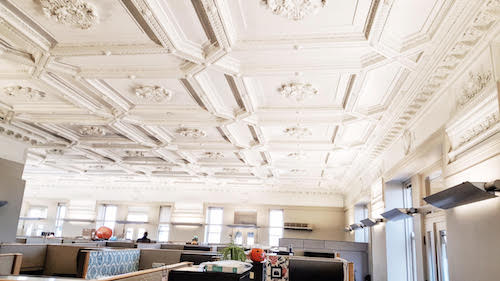 coterie company penthouse ceiling