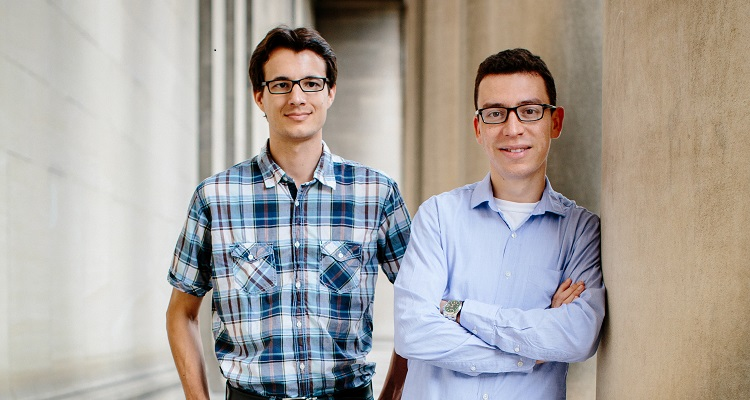 Duolingo CTO Severin Hacker (left) and CEO Luis von Ahn (right). Image courtesy of Duolingo.