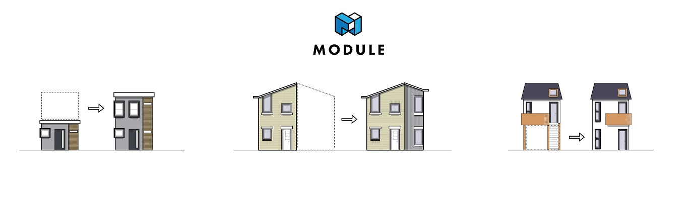 Module elevation diagram. Image courtesy of Brian Gaudio.