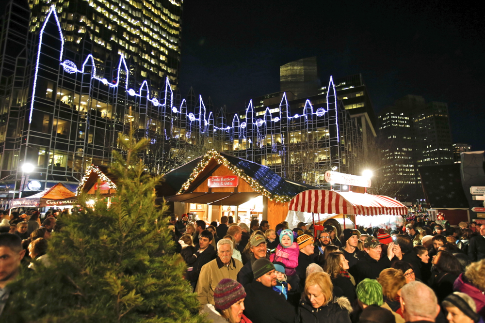 Peoples Gas Holiday Market