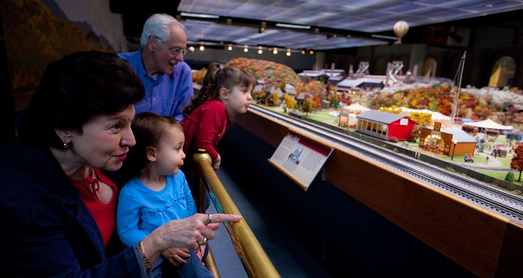 Miniature Railroad & Village at Carnegie Science Center. Photo by Renee Rosensteel.