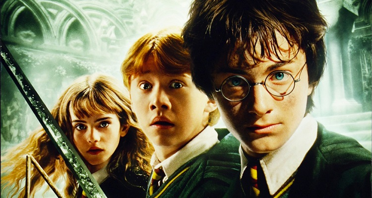 Harry Potter and the Chamber of Secrets. Image courtesy of Warner Bros.