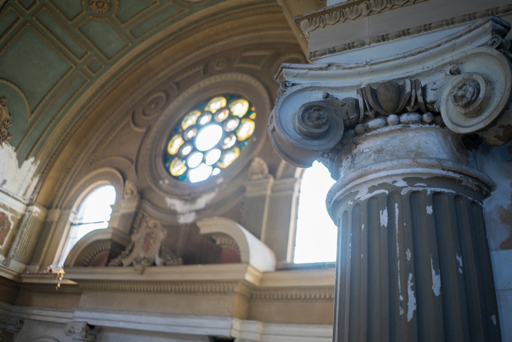 Inside St. Casimir. Brian Conway photo.