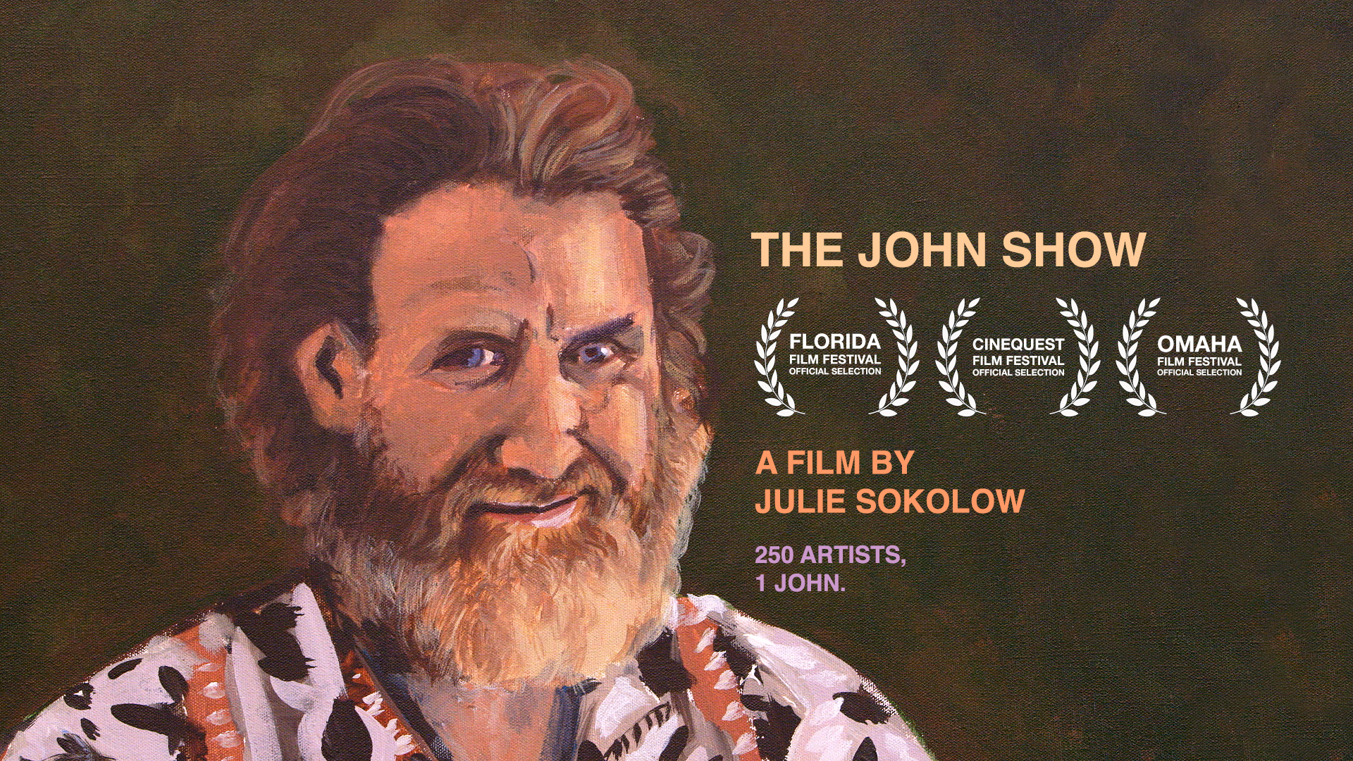 The John Show. Image courtesy of Julie Sokolow.