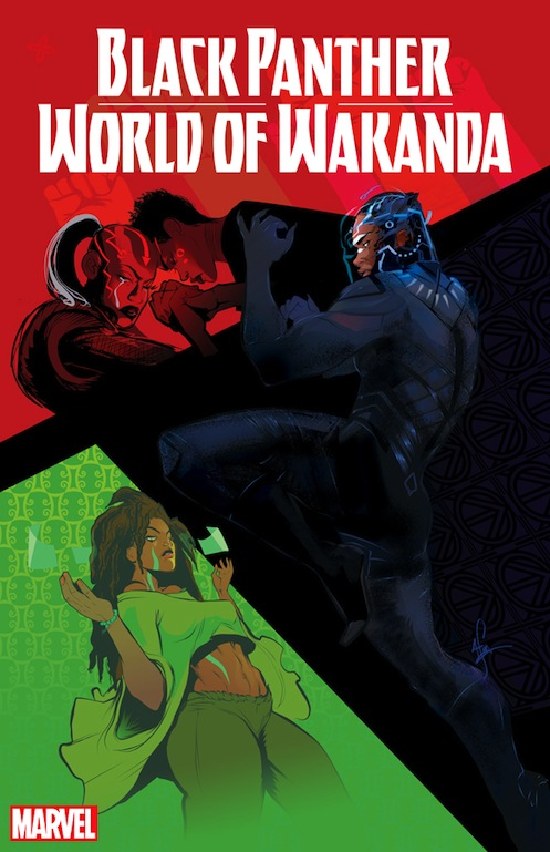 World of Wakanda by Ta-Nehisi Coates, Roxane Gay, Yona Harvey.