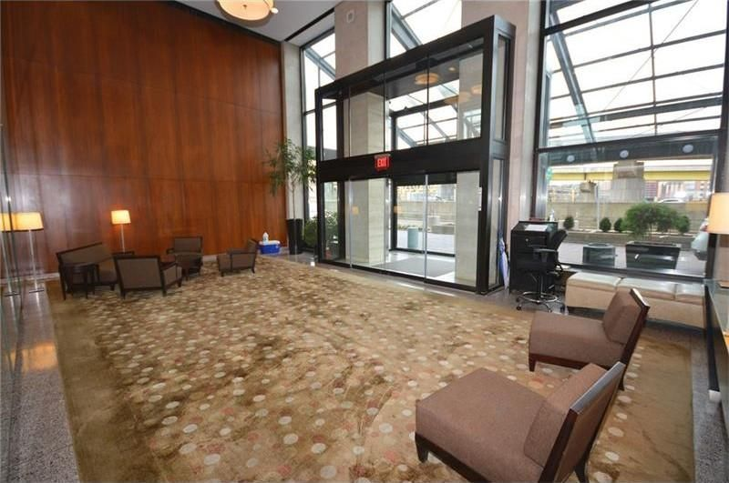 Lobby of Gateway Towers, 320 Fort Duquesne Blvd.