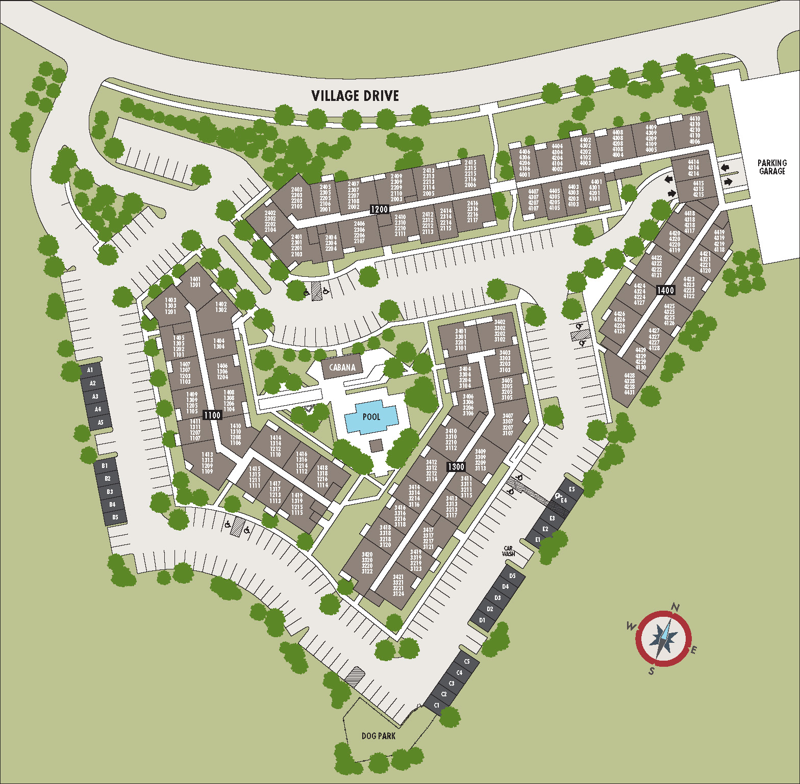 North Hills At Town Center: Apartments At The Ashby At South Hills Village To Offer