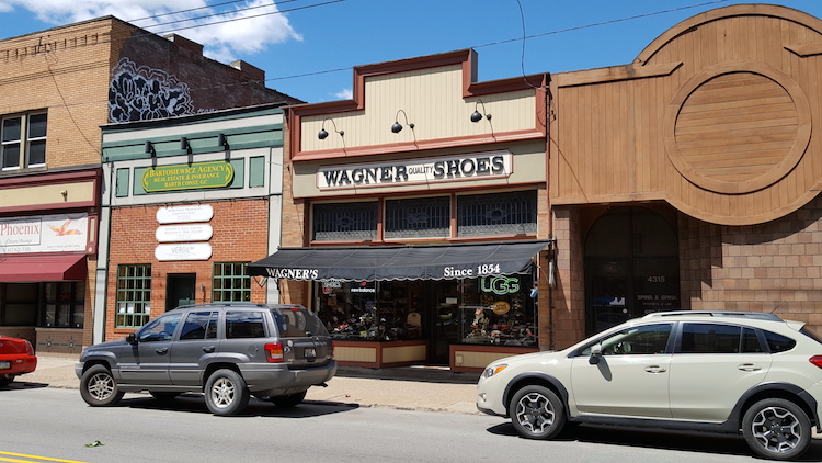 Wagner Shoes. Photo by Melanie Linn Gutowski.