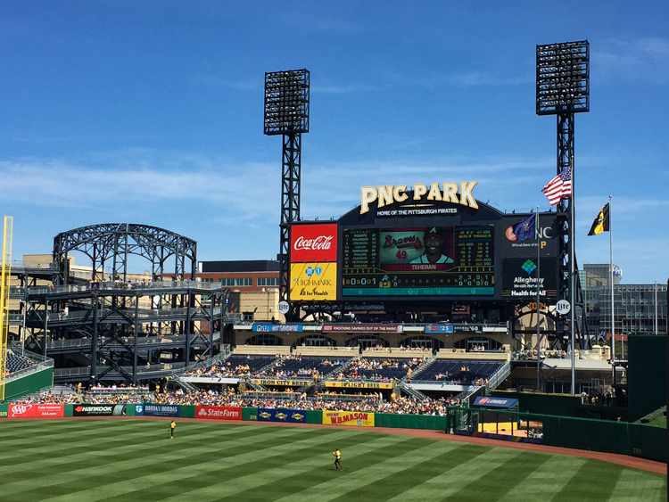 PNC Park. Photo by Tom O'Connor.