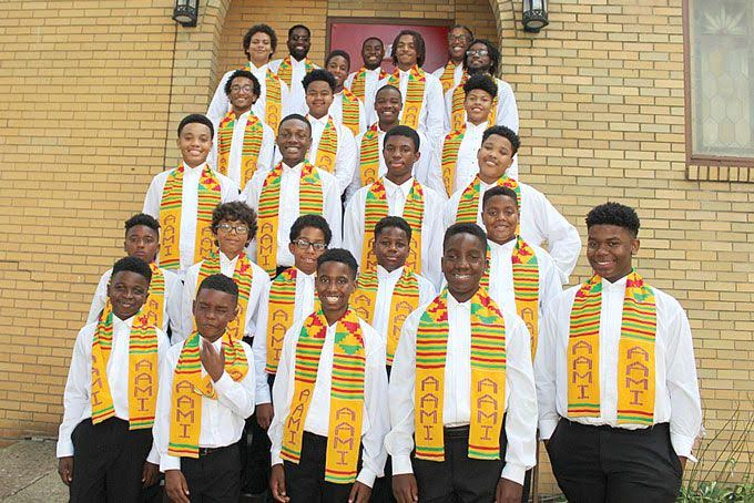 Afro American Music Institute Boys Choir
