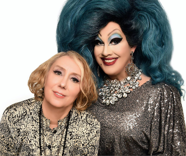 Peaches Christ and Mink Stole