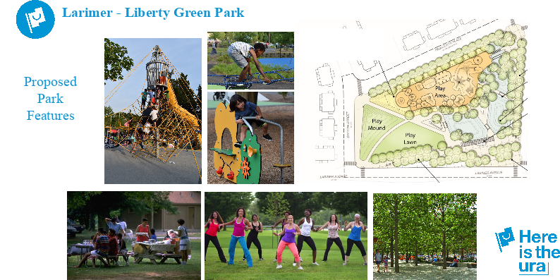 Liberty Green Park will combine public art, open spaces and green stormwater infrastructure in Larimer