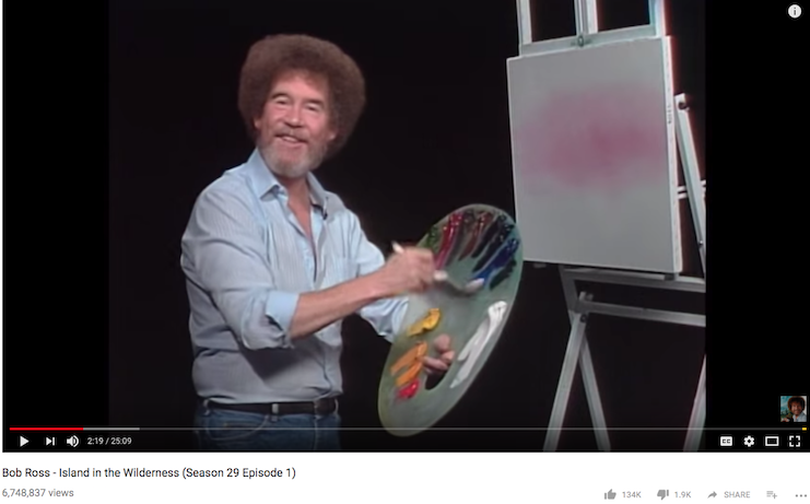 Happy little beers: Couch Brewery offers a Bob Ross-inspired painting class