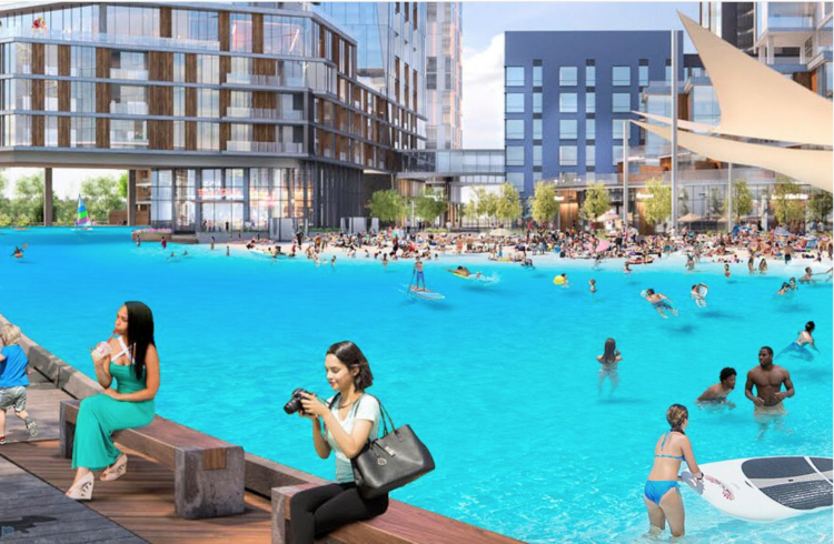 Pittsburgh is getting a two-acre lagoon and ice rink in the Esplanade