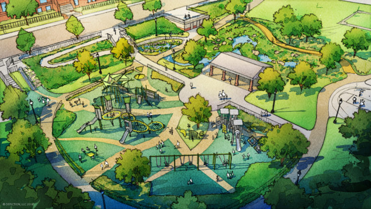 $4.2 million renovation of Wightman Park in Squirrel Hill includes stormwater management