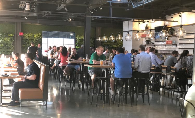 Cinderlands Warehouse opens in the Strip with two floors of beer and dining