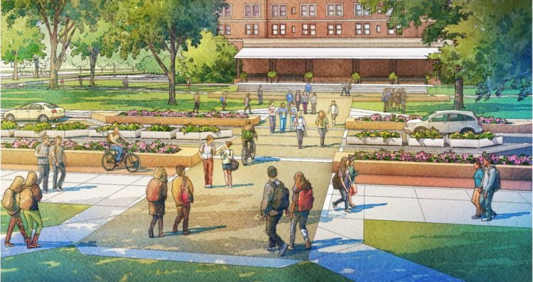 Check out the plan for Pitt's $23.7 million revamp of Oakland's iconic - and congested - Bigelow Boulevard